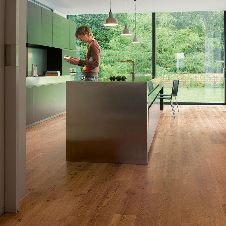 Lựa chọn màu sắc sàn gỗ hợp phong thủy